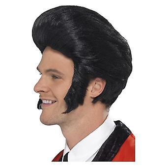 50 lat król masturbate Wig