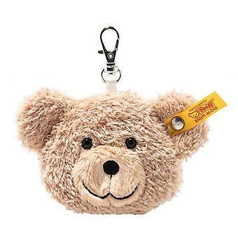 Steiff bear head Christer Keychain 7 cm