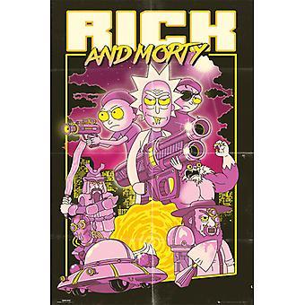 Rick ja Morty Toiminta Movie Maxi Juliste