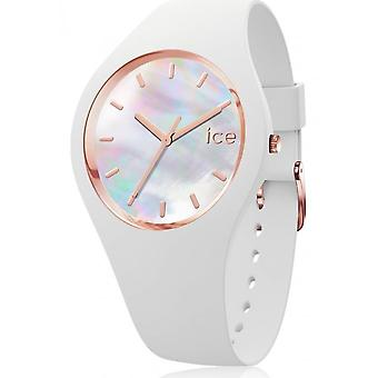 Ice Watch - Armbanduhr - Unisex - ICE pearl - White - Small - 3H - 016935
