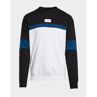 New McKenzie Men's Zachary Crew Sweatshirt Blue