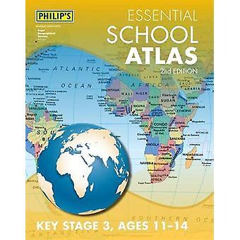 Philip's Essential School Atlas van Philip's Maps - 9781849075183 Boek