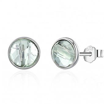 Silver Earrings Birth Month March - 6548