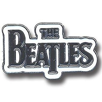 Os Beatles soltar T logotipo oficial novo Chrome distintivo de Metal