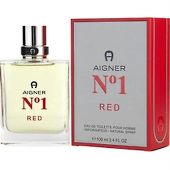 Aigner Parfums - Aigner No. 1 Red - Eau De Toilette - 100ML
