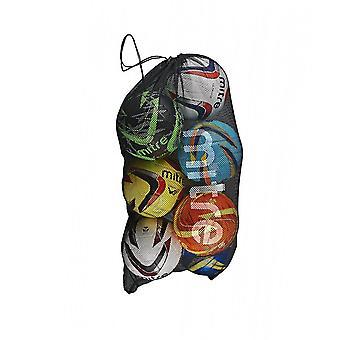 Mitra Mesh Football Soccer 10 Ball Sack Tragetasche