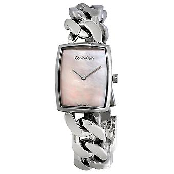 Calvin Klein K5D2S12E Amaze Pink Dial Small Ladies Watch