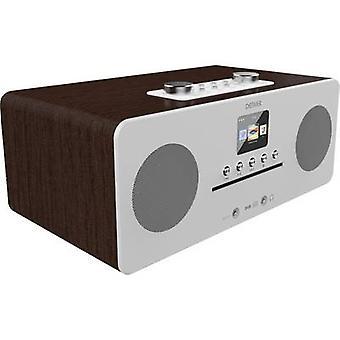 Denver MIR-260 Internet desk radio DAB+, FM AUX, Bluetooth, CD, NFC, Internet radio Wood (dark)