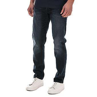 Hommes-apos;s Jack Jones Mike Original 004 Jeans en bleu