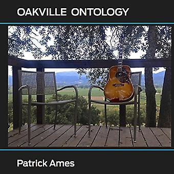 Patrick Ames - Oakville Ontology [CD] USA import