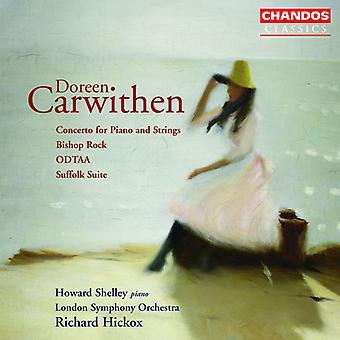 D. Carwithen - Doreen Carwithen: Concerto pour piano et cordes; Bishop Rock; Odtaa; Suffolk Suite [CD] Etats-Unis d'importation