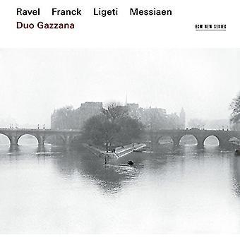 Duo Gazzana - Ravel Franck Messiaen Ligeti [CD] USA import