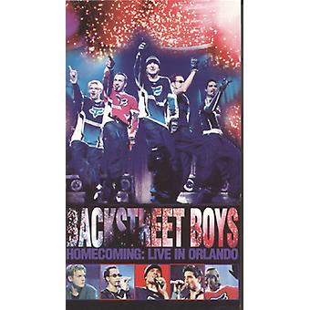 Backstreet Boys - Homecoming-Live in Orlando [DVD] USA import