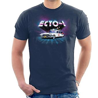 Ghostbusters ECTO 1 Retro 80's Men's T-Shirt
