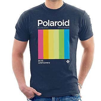 Polaroid Be Creative Be Polaroid Men's T-Shirt