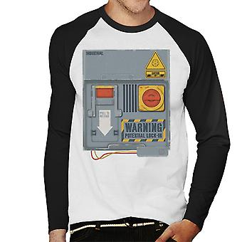The Crystal Maze Lock In Board Men's Baseball Long Sleeved T-Shirt