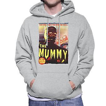 Hammer skräckfilmer Mummy Movie poster män ' s Huvtröja