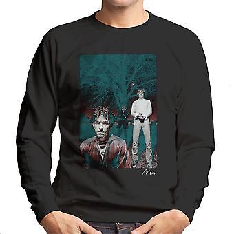 The Cure In Front Of Trees Men's Sweatshirt