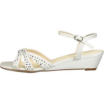 Benjamin Walk naisten Lena Peep Toe rento nilkka hihna sandaalit