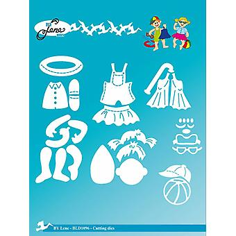 By Lene Cutting & Embossing Dies Summer Kids