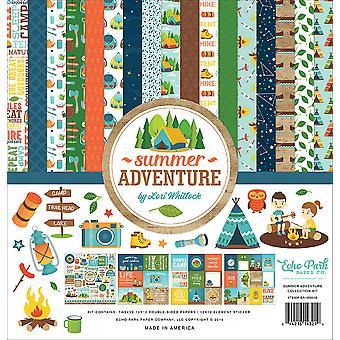 Echo Park Summer Adventure 12x12 Inch Collectie Kit
