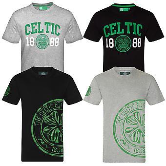 Celtic FC officiella Fotboll Gift Mens Graphic T-shirt