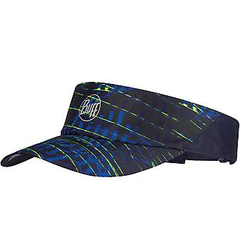 Buff Unisex Reflective Sural Sports Adjustable Running Visor Cap Hat - Multi