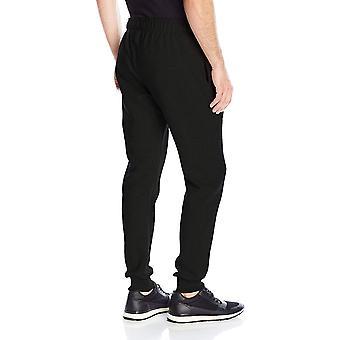 Champion mænd ' s powerblend retro fleece jogger pant, sort,, sort, størrelse Large