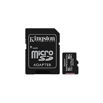 Kingston 16Gb Microsd Sdhc Sdxc Class10 Uhs I Memory Card 100Mb