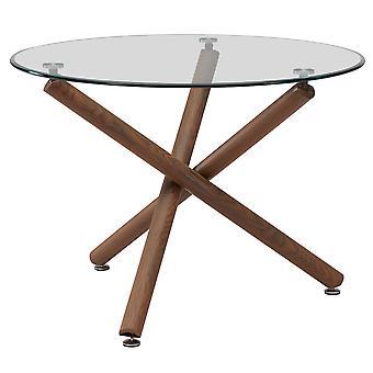 "Kaden Dining Table, 40""Dia - Walnut"