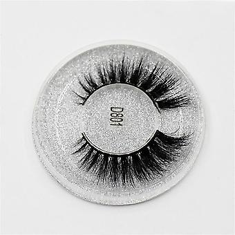 3d Mink Lashes Thick Hand Made Full Strip Lashes, Cruelty Free Mink Lashes