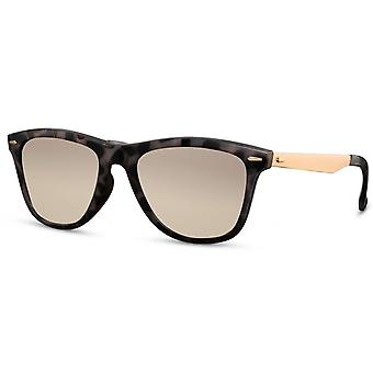 Sunglasses Unisex oval cat. 3 grey/brown