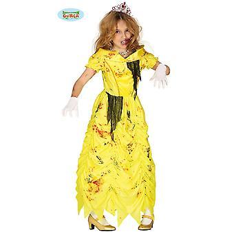 Zombie Prinzessin Halloween Kostüm Untote Königin Kleid
