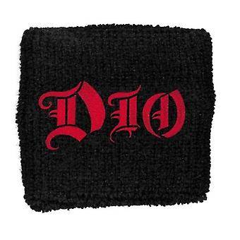 Dio band Logo Ronnie James New Official black Cotton Sweatband