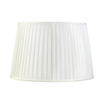 40 Cm Tissu Conique Abat-jour Blanc