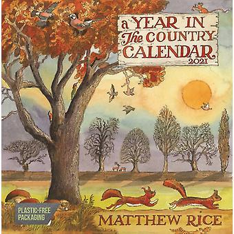 Matthew Rice Un an dans le calendrier du mur de La Place du Pays 2021