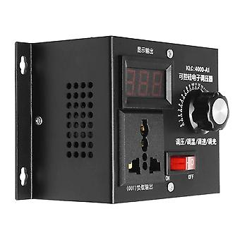 220v 4000w Universal Motor Speed Controller, Régulateur de tension variable