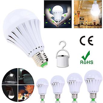 Rechargeable Emergency Led Light Bulb E27 Lamp Magic Light With Water On The Smart
