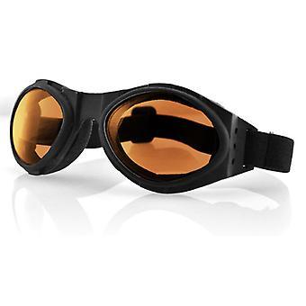 Balboa BA001A Bugeye Black Frame lentille - ambre