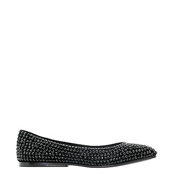 Eddy Daniele Ew20206 Women's Black Leather Flats