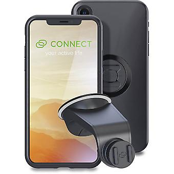 sp connect black iphone xr case and suction mount