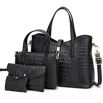 Women Fashion  4pcs Set Tote  Handbags