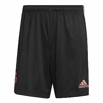 2020-2021 Real Madrid Third Shorts (Black)