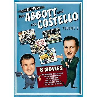 Best of Bud Abbott & Lou Costello 3 [DVD] USA import