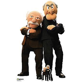 Statler und Waldorf von The Muppets Official Lifesize Cardboard Cutout