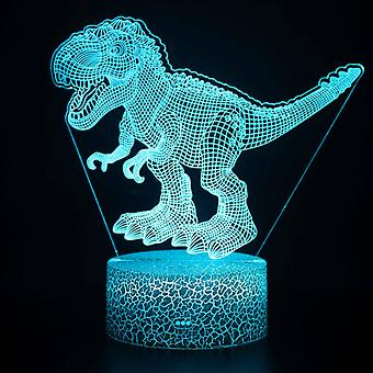 3D Touch Light Night 7 colors remote control - Dinosaur #1241