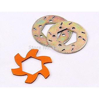 1/5 Brake Disc Fin Plate And Disc Pad Set - 1/5 Scale Baja 5b Parts - 852261