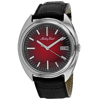 Mathey Tissot Men's Classic Red Dial Watch - EG1886AR