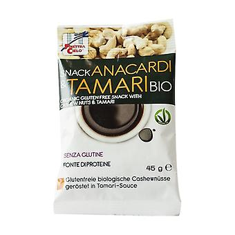 Cashew and tamari snacks 45 g