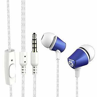 Cocoon 100 Series Noise-Isolating Tangle Free In-Ear Headphone - Cobalt Blue